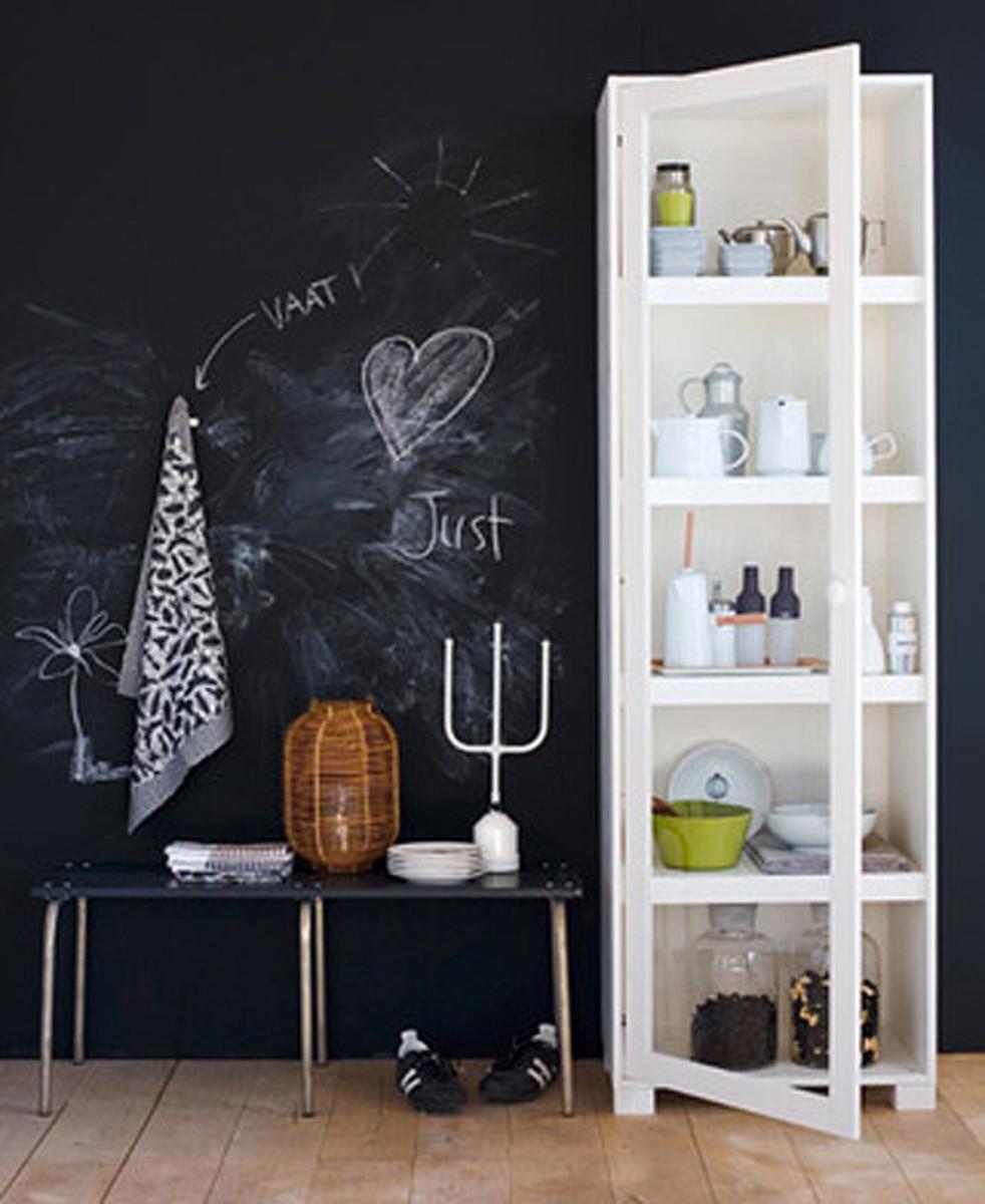 Blackboard paint decoration