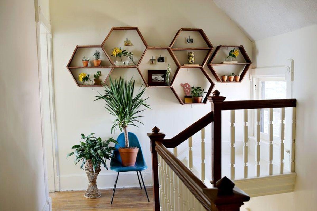 Shelves decoration