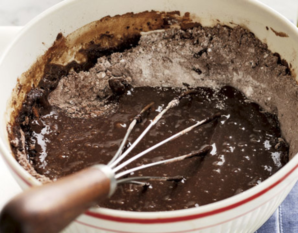How do you make a delicious chocolate cake? A secret ...