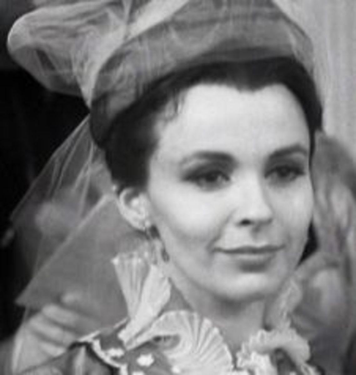 Claire Bloom as Anna Karenina