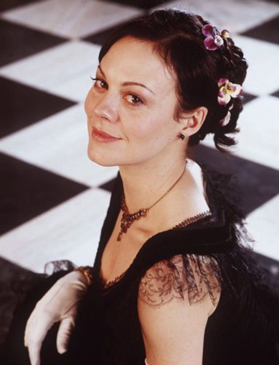 Helen McCrory as Anna Karenina