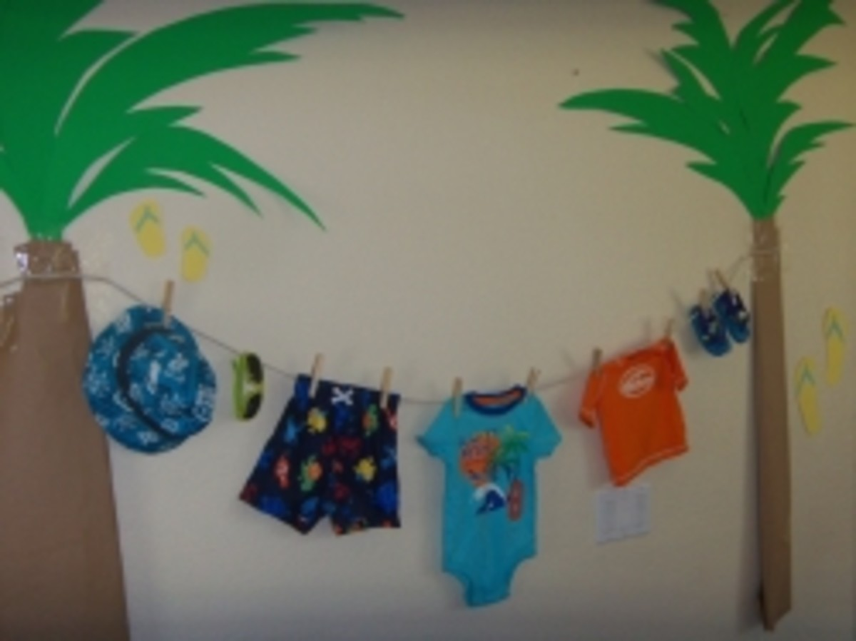 Have a Surf-themed Boy Baby Shower