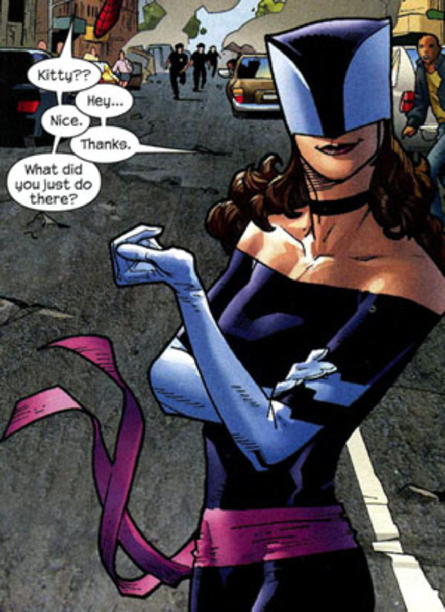 Her second costume for Spider-man