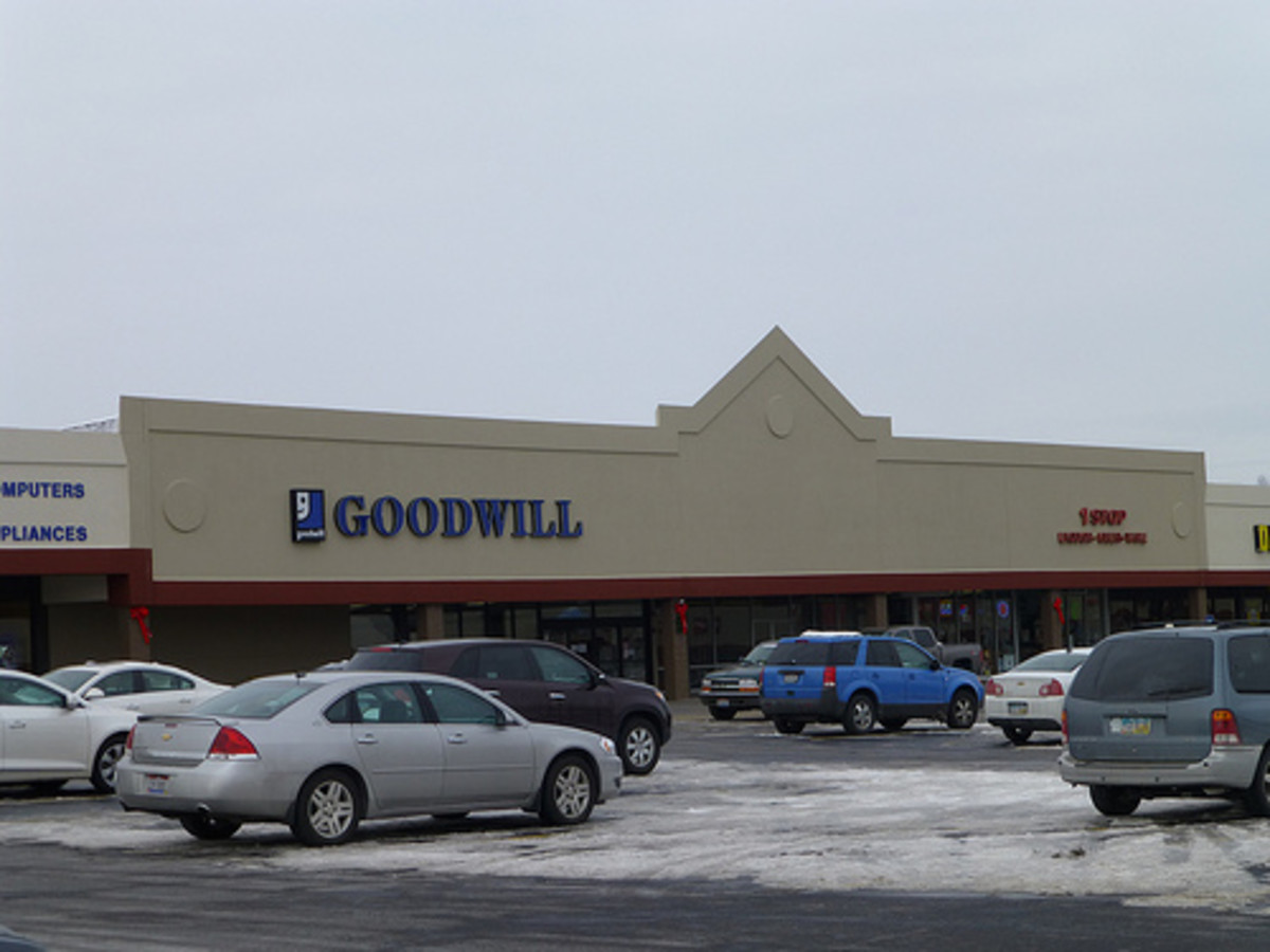 Goodwill auctions