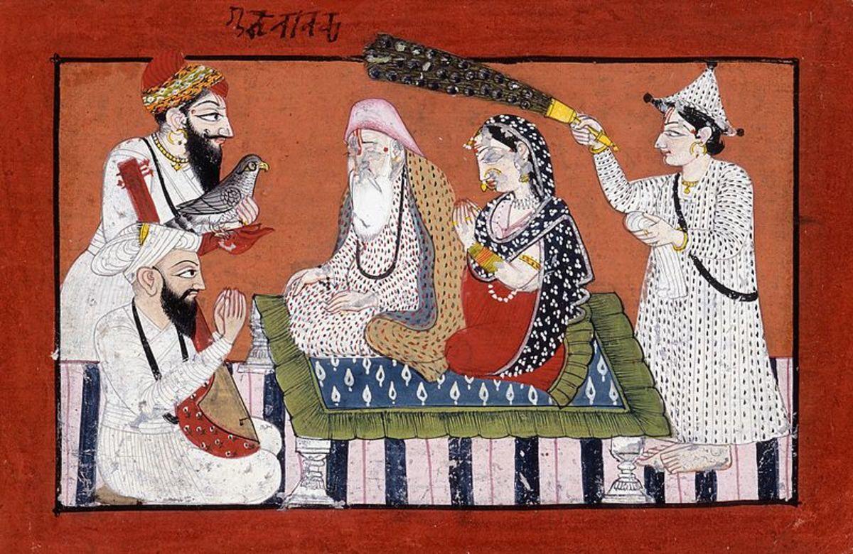 An Imaginary Meeting between Guru Nanak and Gobind Singh