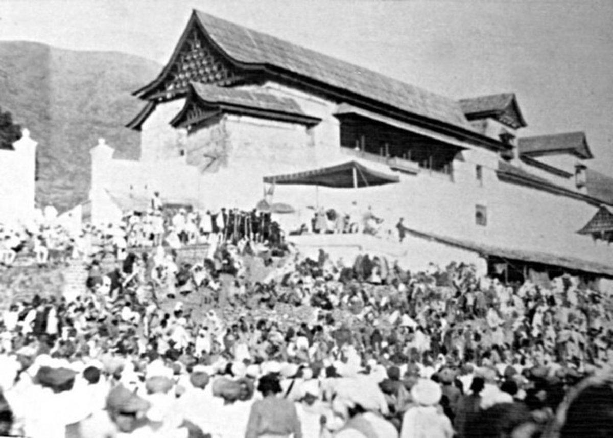 The Old Palace of Mandi