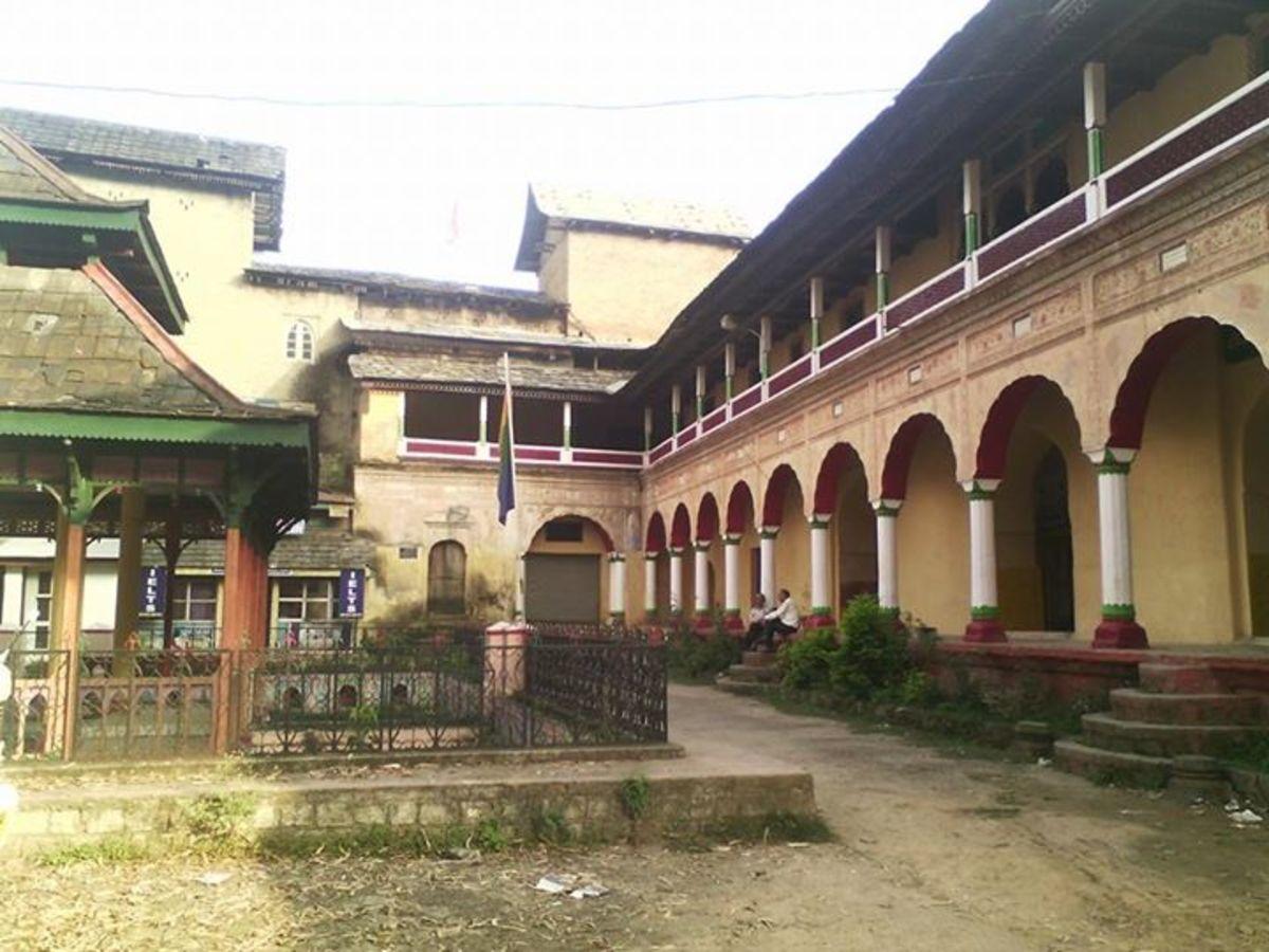 The Royal Palace Mandi