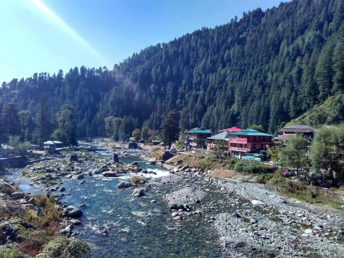 The scenic beauty of Barot