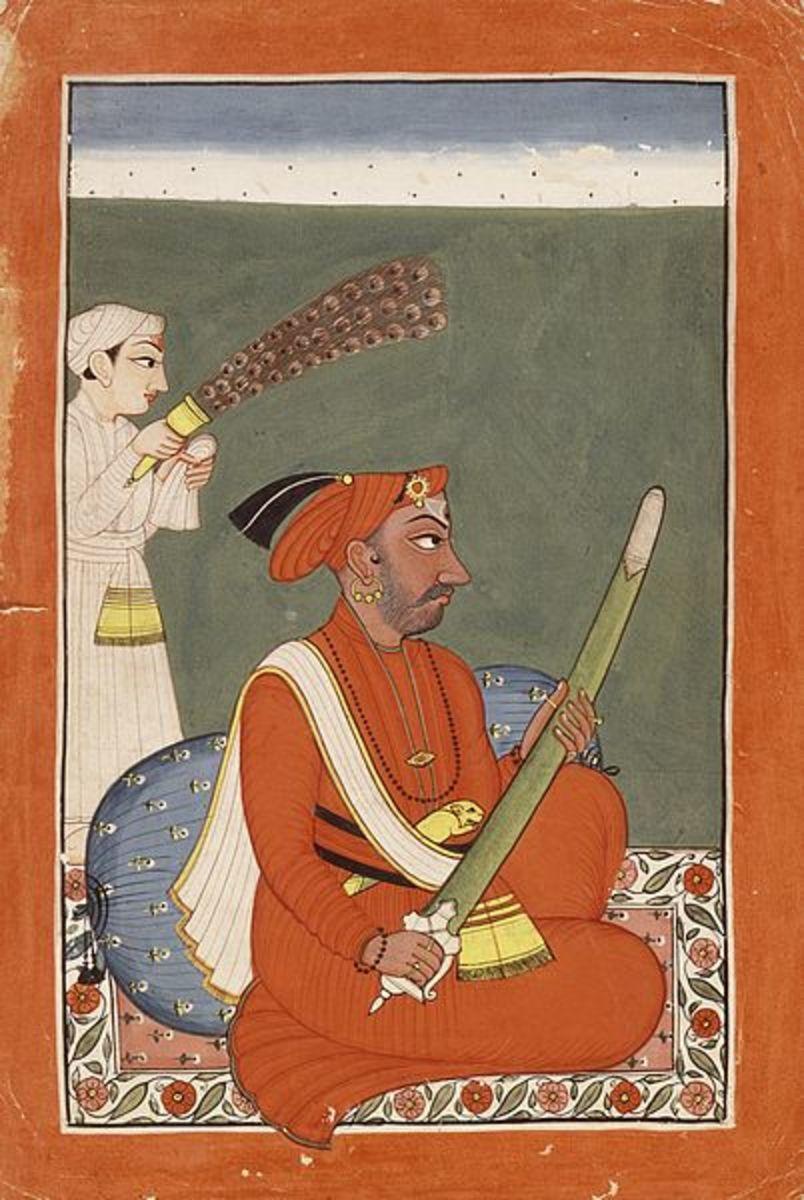 Raja Sidh Sen ( 1684-1727)of Mandi, 1750-1775