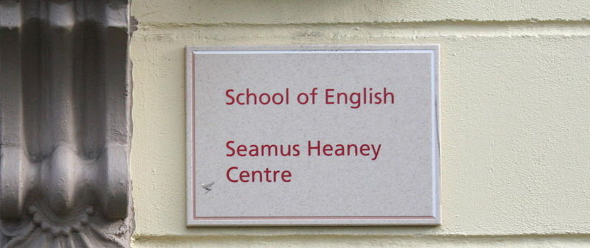 Seamus Heaney Centre for Poetry at Queen's University, Belfast, opened in 2004.