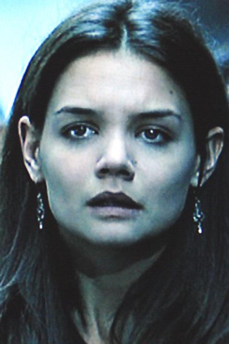 Girlfriend Pamela, played by Katie Holmes