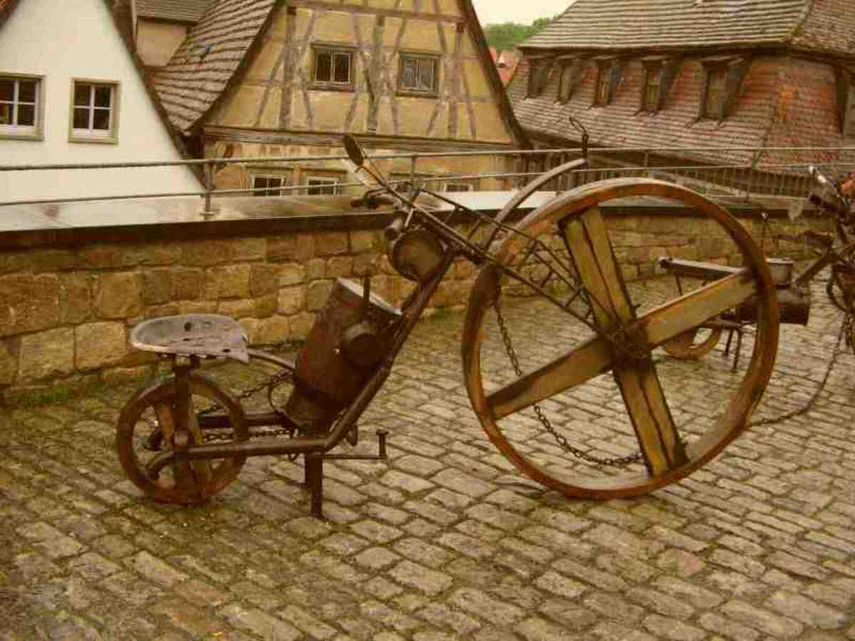 As you can see the bisiklet sounds more like bicycle, hence the modern term bicycle.