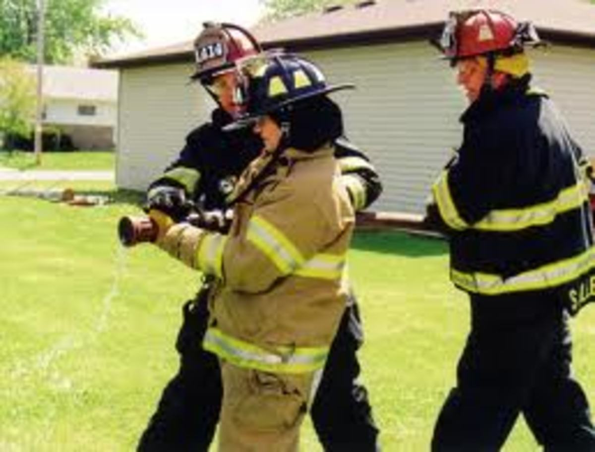 Teach a firefighter the right way and they will stay safe!