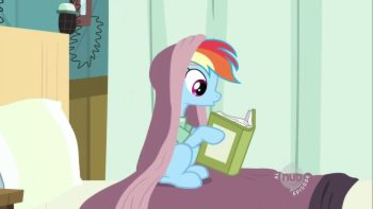Take a look, it's in a book, Reading Rainbow!