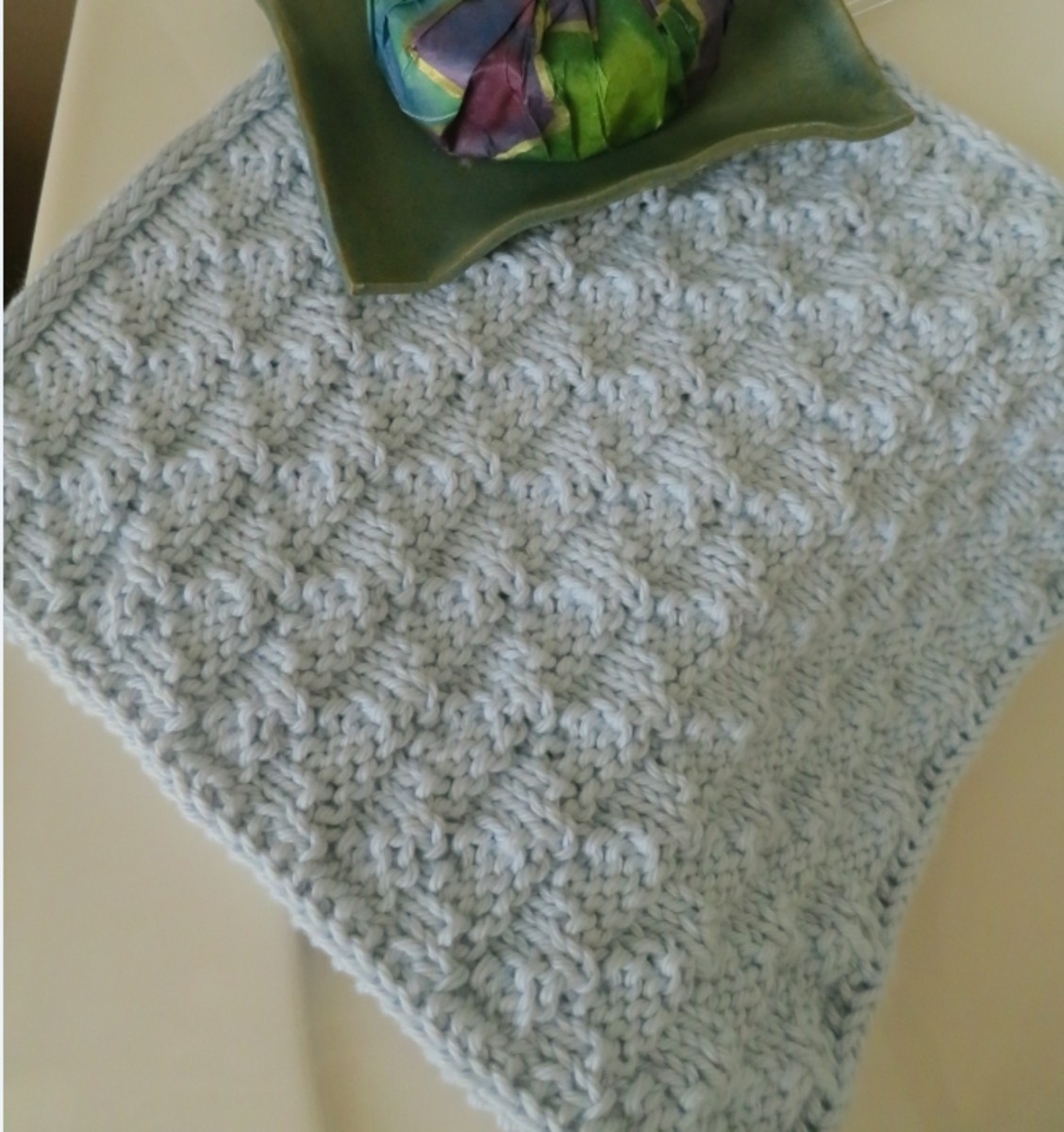 Free Knitting Pattern for Simply Special Washcloth