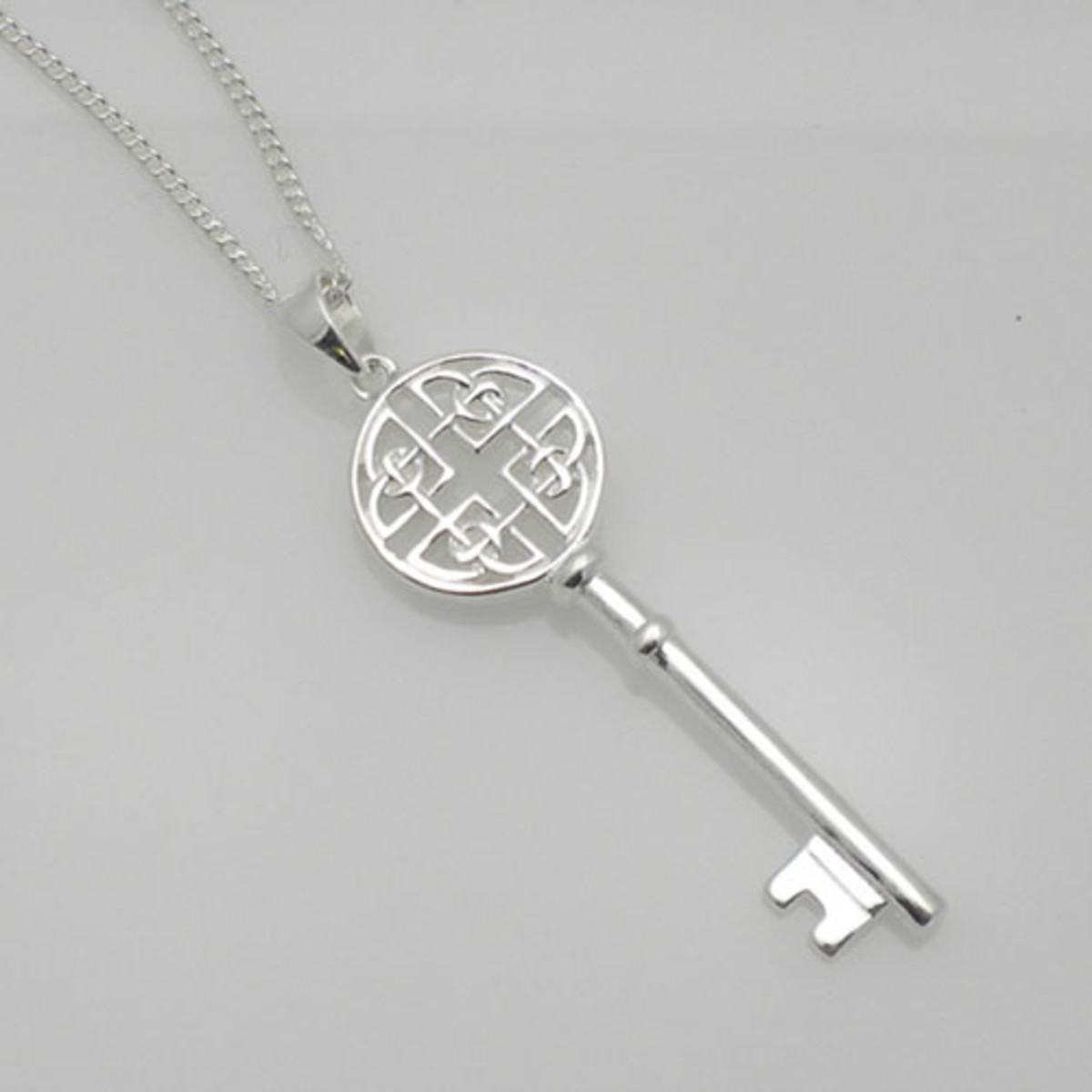 Celtic styled key and chain - Celtic ladies were entrusted with the household in the same way as the Norse women
