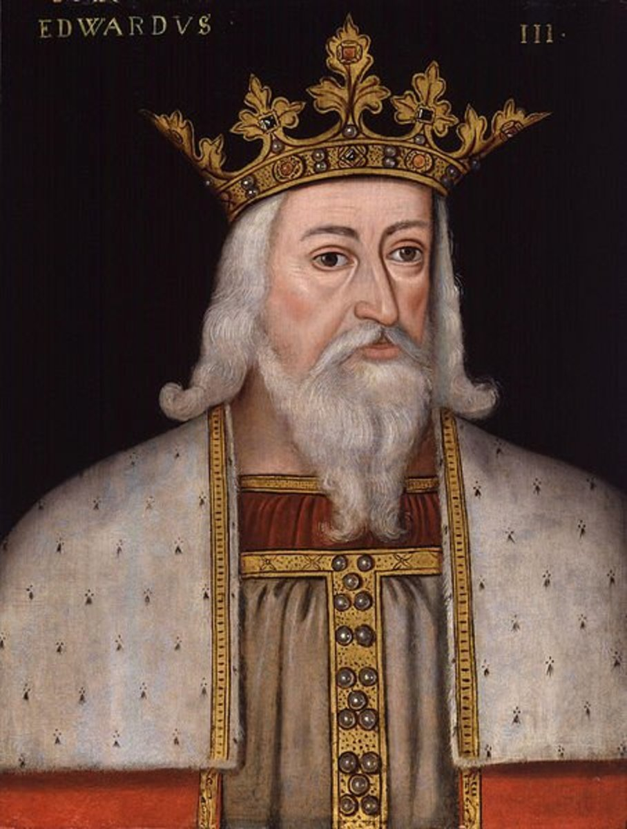 The War of the Roses was between cousins from Edward III of England's line.