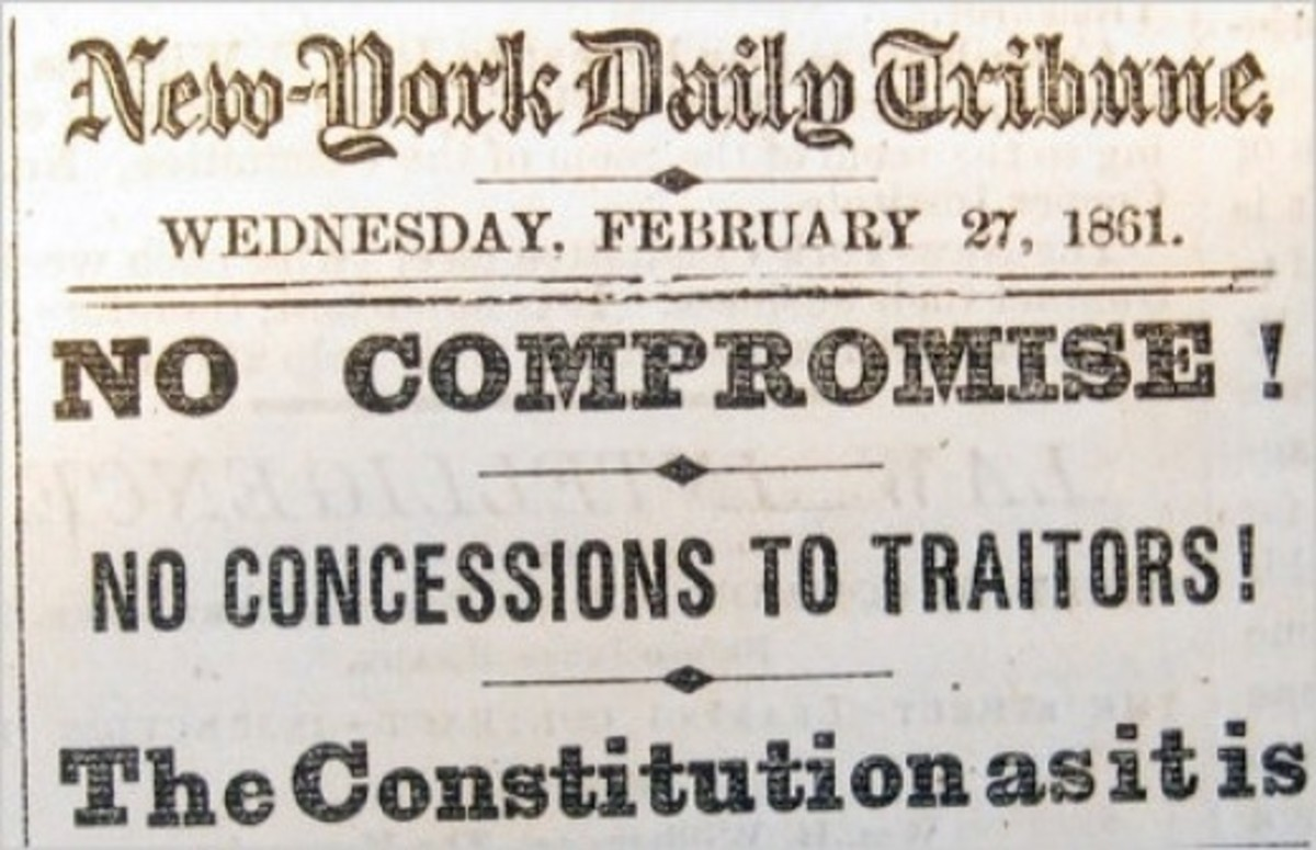 NY Daily Tribune anti-secession article