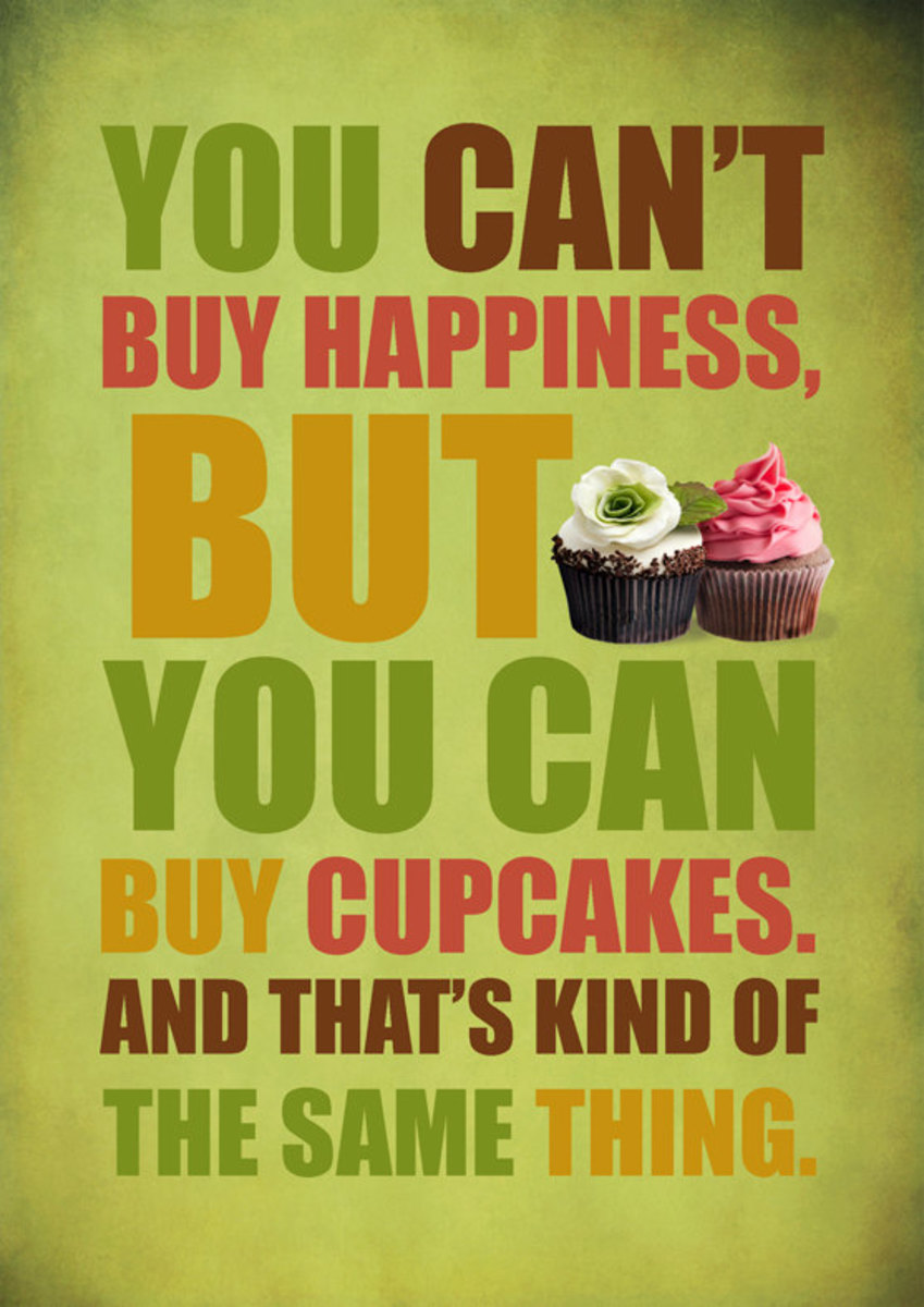 Nothing brightens up a day faster than a good cupcake!