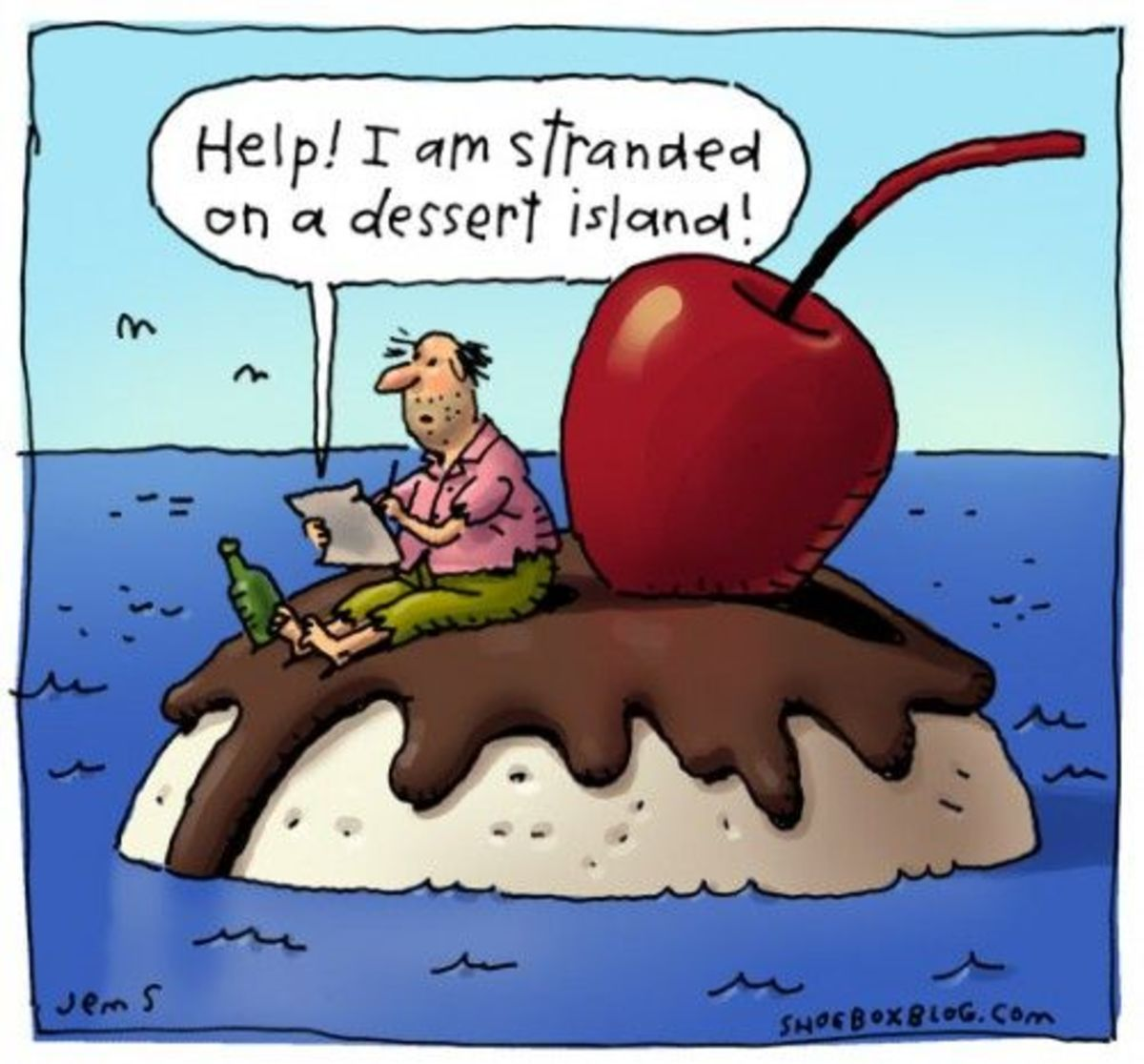 Don't desert your desserts!