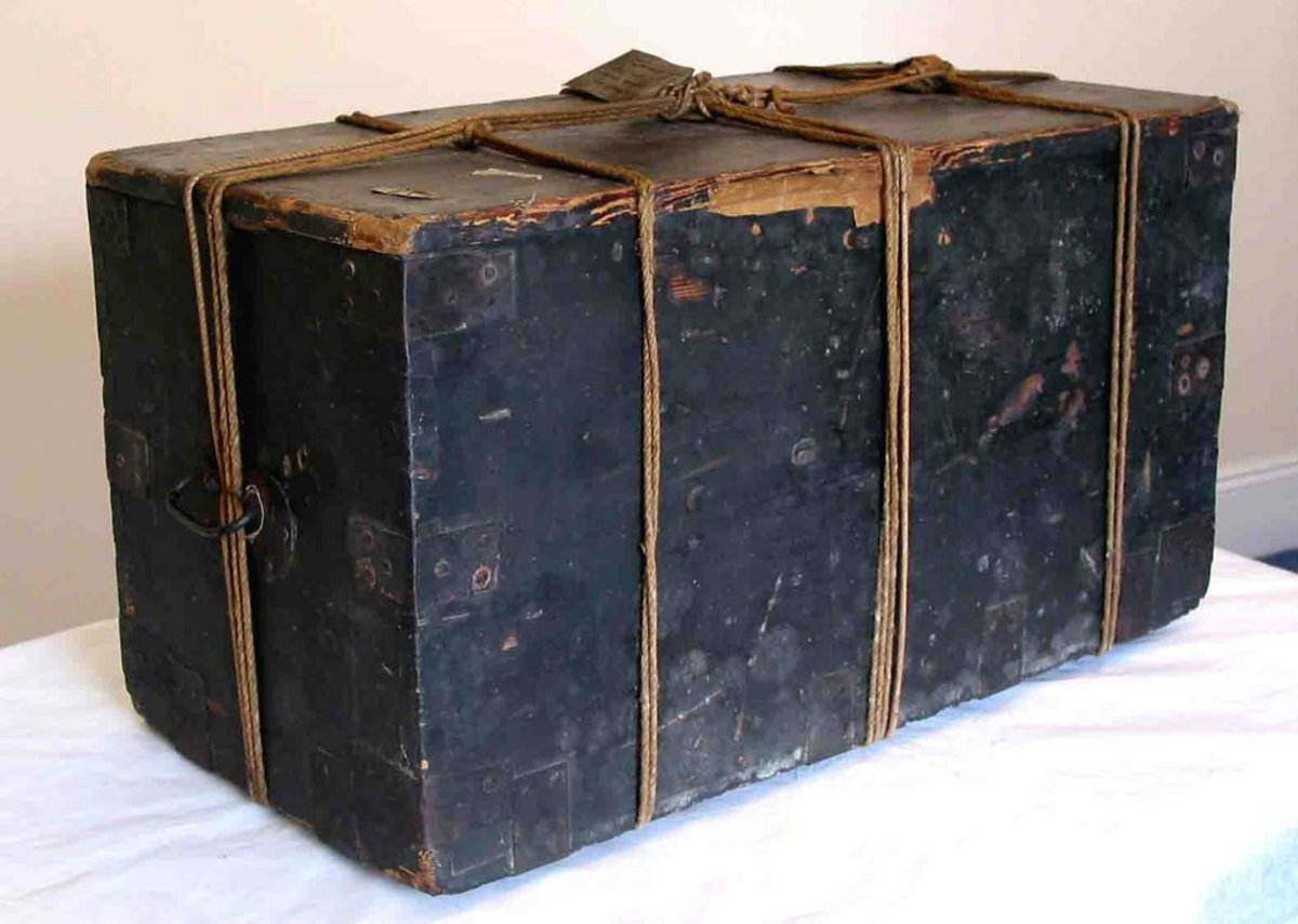 Joanna Southcott's box (probably the first fake)