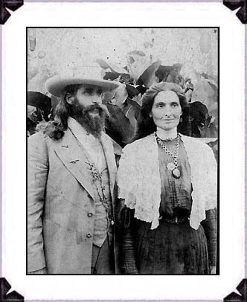 Benjamin and Mary Purnell