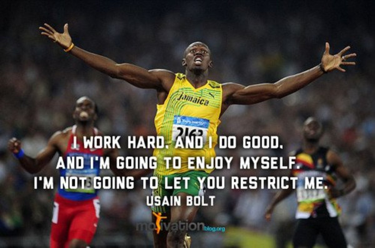 usain bolt speech Usain bolt, who will soon run his final individual race, will never be replaced for  more than a decade, he was the perfect answer to every.