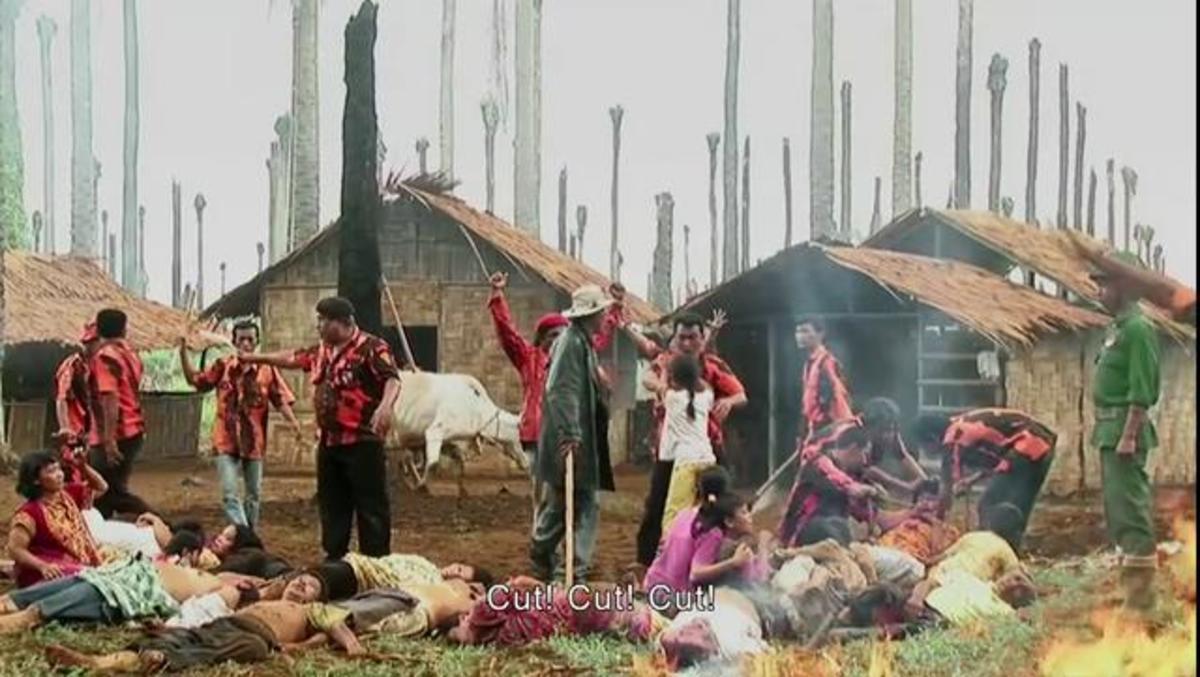 Village Masacre Reenactment