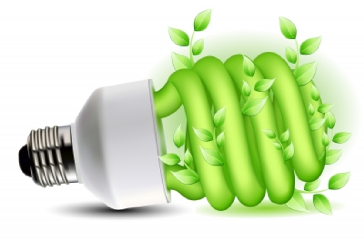 This image should encourage us all to be greener and more energy saving.