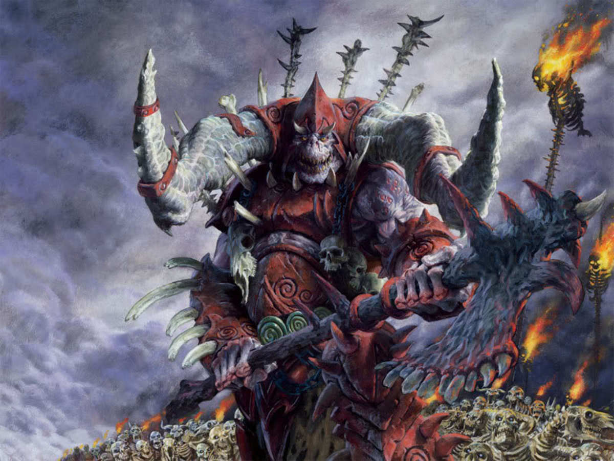 Official artwork for Sedris, the Traitor King.
