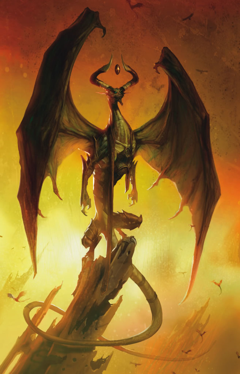 Official artwork for Nicol Bolas, Planeswalker.