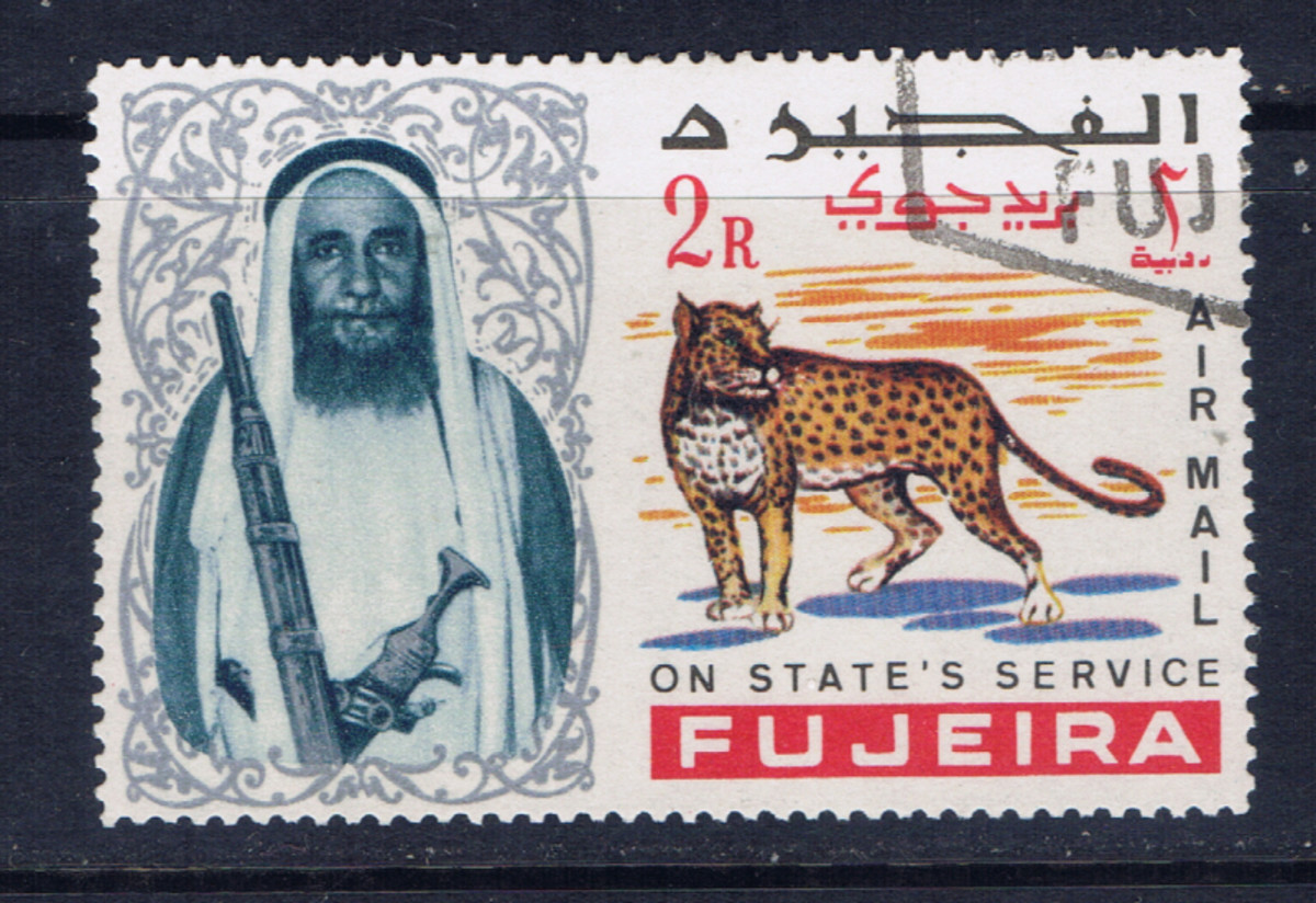 This is an example of a stamp which has been canceled-to-order.  It is also an example of a topical since it shows a large cat.