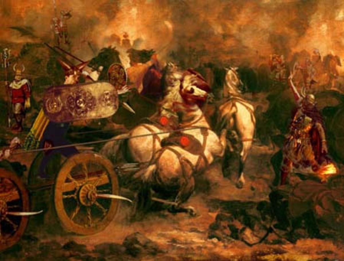 Cuchulainn's last battle