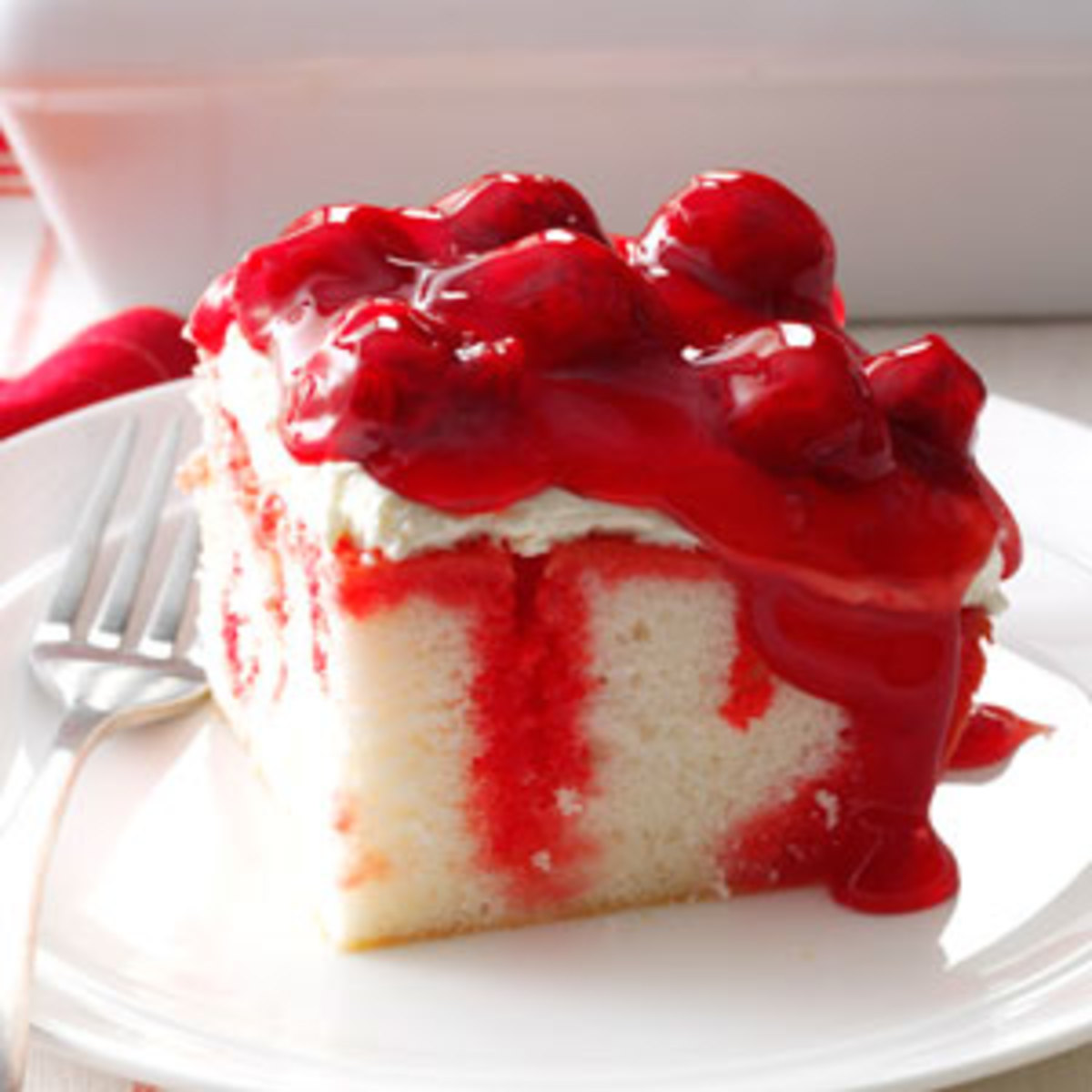 Cherry Cream Cake Recipe