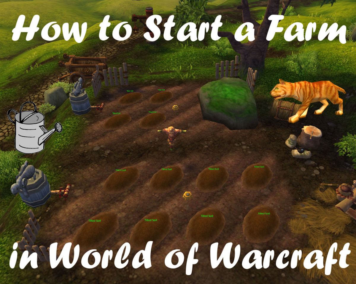 Farming crops in world of Warcraft can lead to fun, useful and cool rewards!