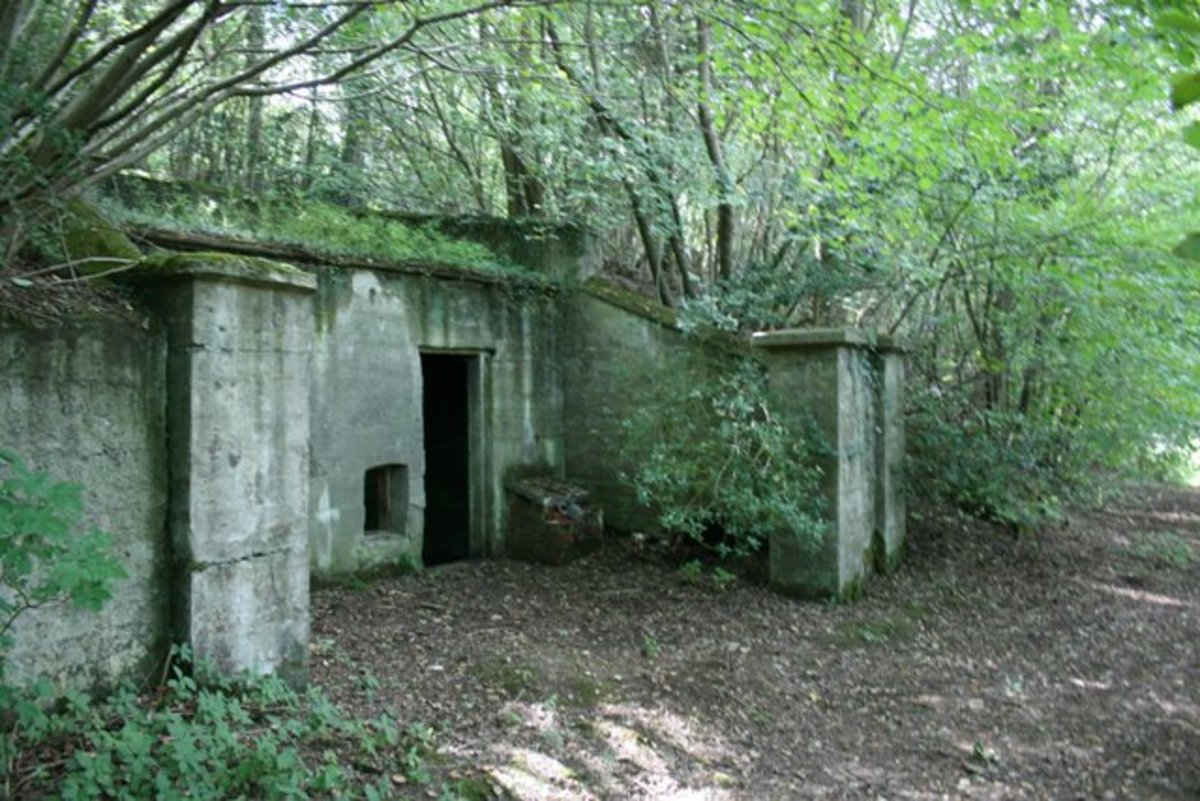 Spawod Mine powder magazine near the stables - what if this lot had gone up and taken the stables with it?