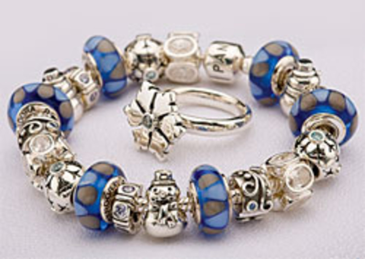 An idea for a Pandora winter bracelet.