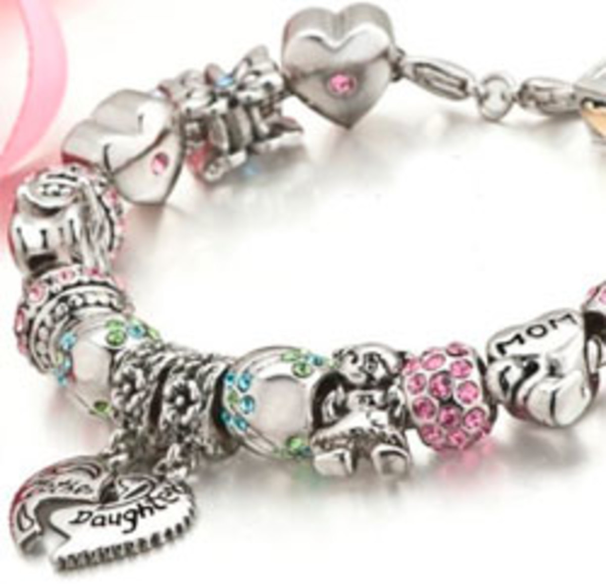 Pandora charms can be used to mark milestones through life's journey.