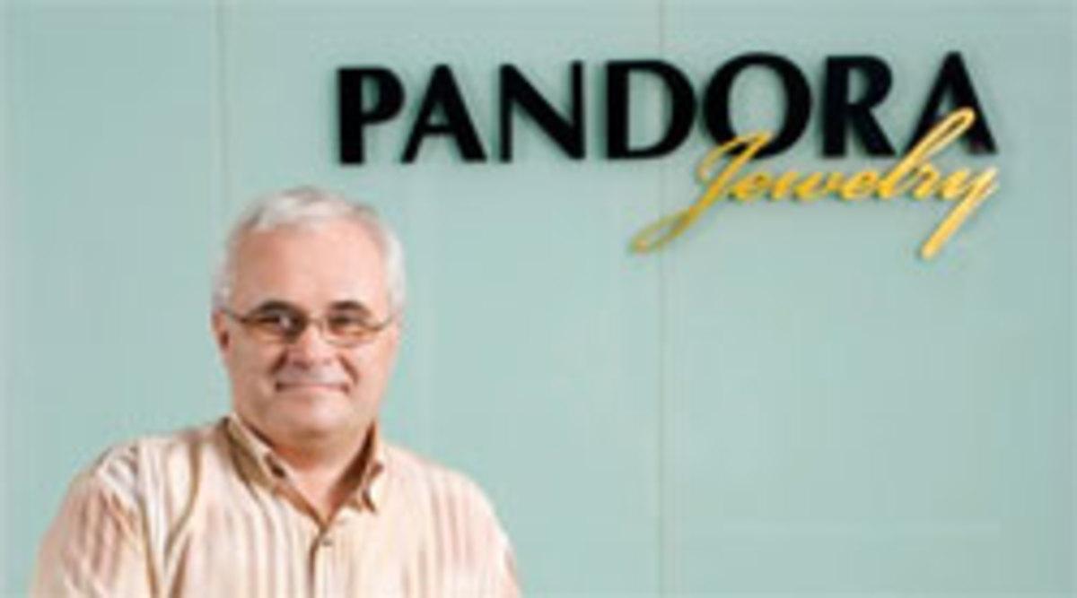 Per Enevoldsen, the founder of Pandora jewelery.
