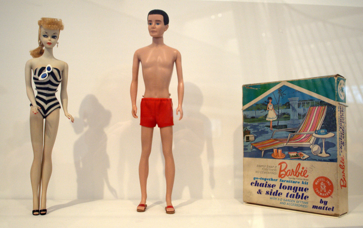 Barbie may have strange proportions, but she is not the only one...