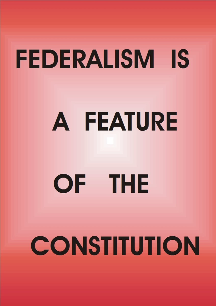 Features of Nigerian Constitutional Law. Federalism as a feature of Nigerian constitutional Law