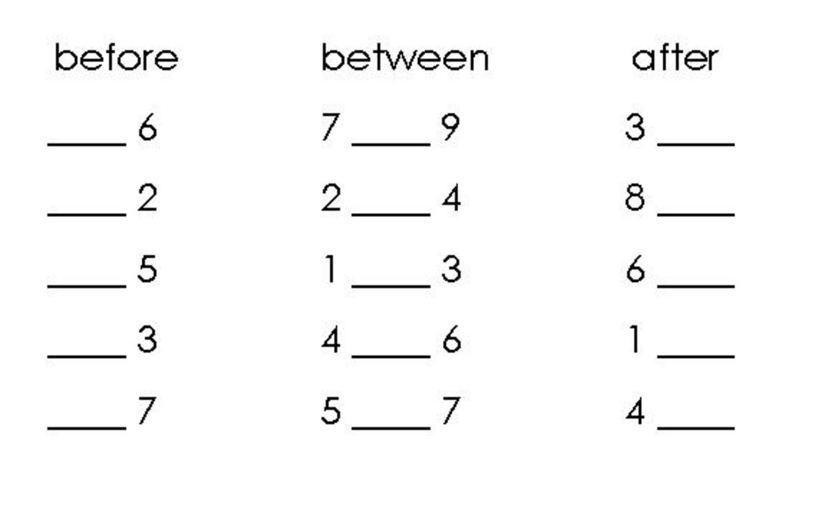 correct way to write numbers