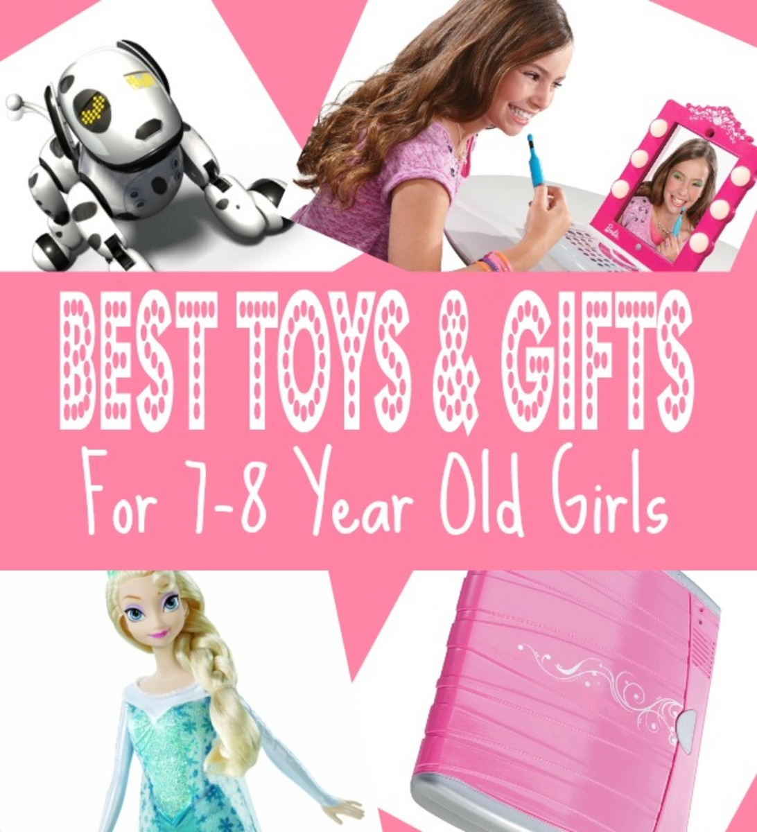 Best Gifts & Top Toys for 7 Year old Girls in 2015 - Christmas, Seventh Birthday and 7-8 Year Olds