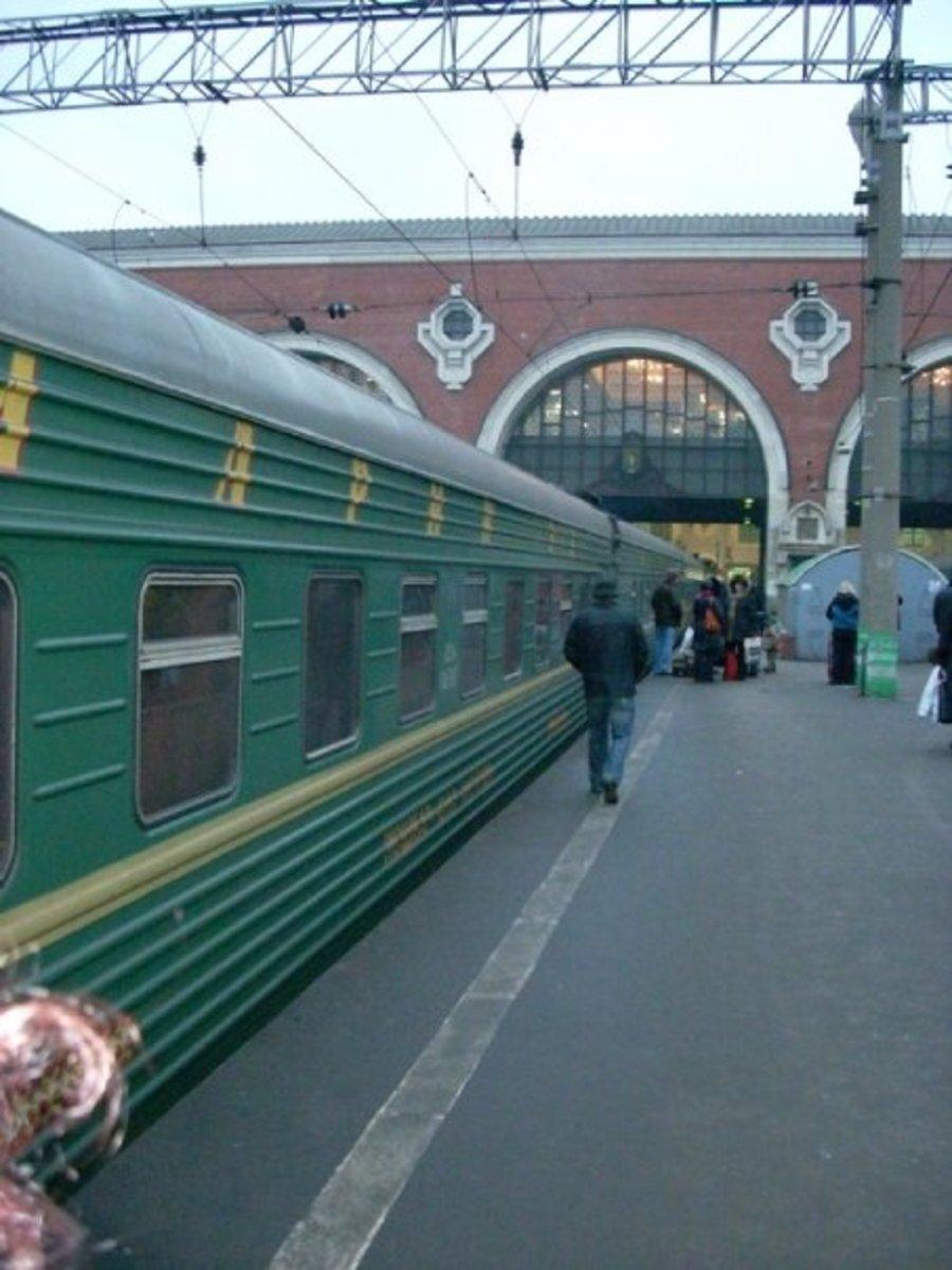 Train from Moscow to Yoshkar-Ola