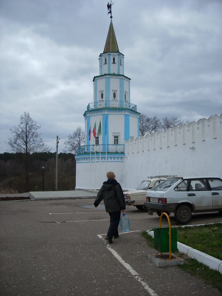 Part of the Kazan Kremlin