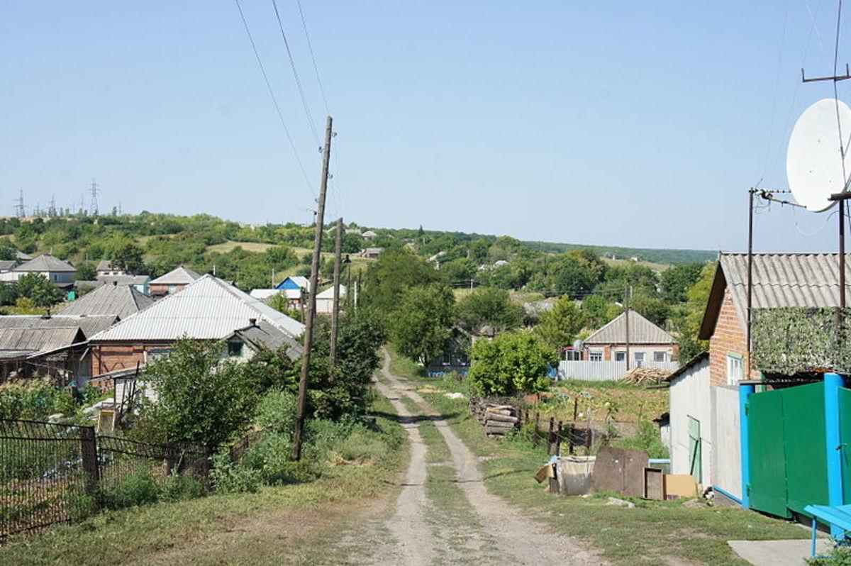 Typical FSU Village Housing