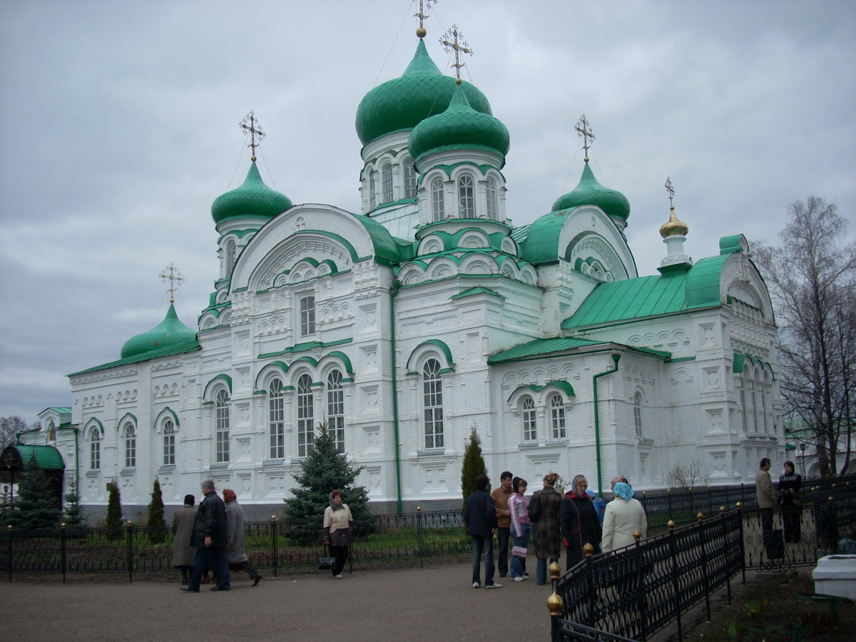 The Raifa Monastery of the Mother of God (Raifsky Bogoroditsky Monastery) is a monastery for men located in the Russian Diocese of Kazan. The monastery was established in 1613. in what is now the Republic of Tatarstan. Closed during the Soviet years,