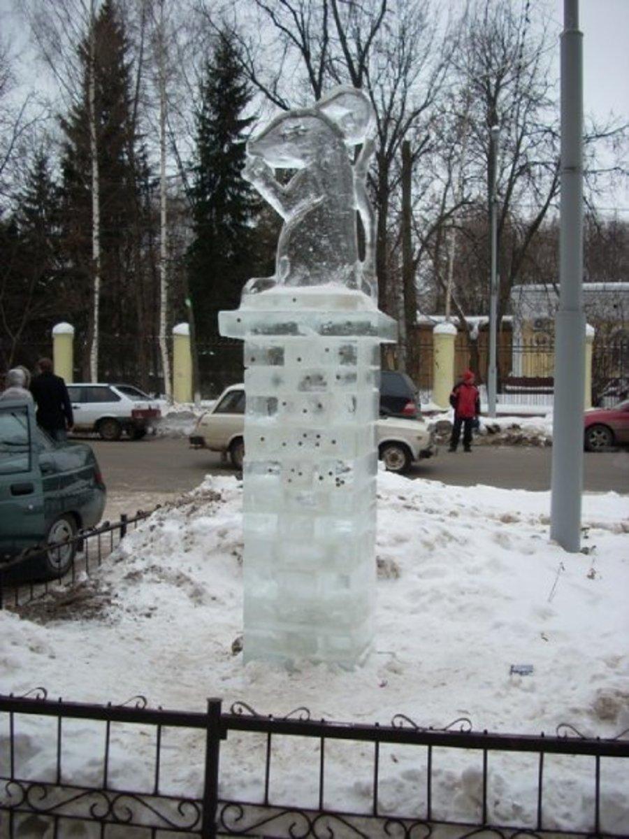 Ice Sculpture, Yoshkar-Ola
