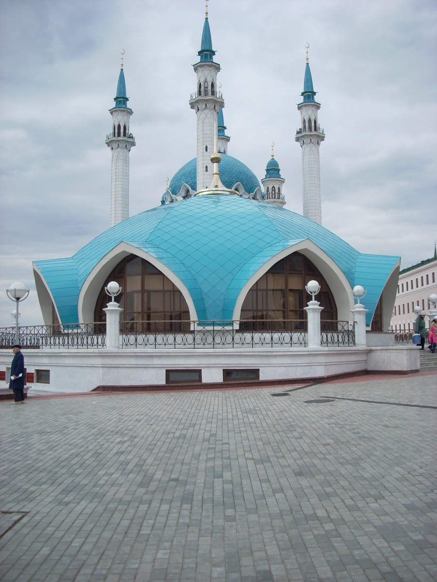 Muslim Mosque in Kazan, Russia