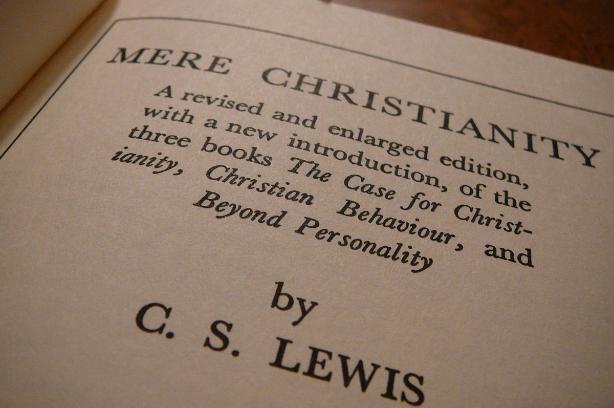 Lewis' masterful classic on apologetics.